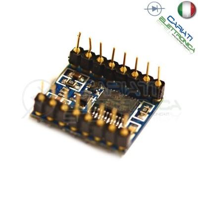 Modulo lettore audio WTV020 arduino shield musica suono 16 pin