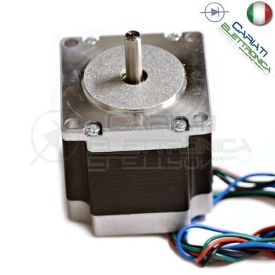 Nema23 Motore Stepper Motor 1,26 Nm 56mm Passo Passo CNC 3D Stampante Generico