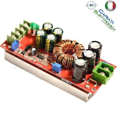 Convertitore regolatore di tensione DC DC Step Up Boost 10-60 V a 12-80 V DC 10A