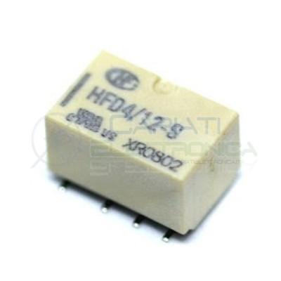 Relay Relè 12V Dc Doppio 2 Scambio NEC HFD4-012-S DPDT PCB