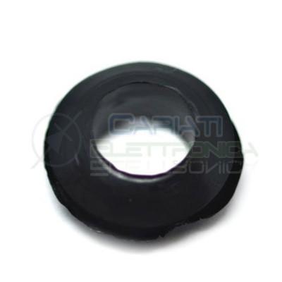 20 PEZZI Passacavo in gomma gommino guida cavo da pannello con foro passante 6mm 1,00 €