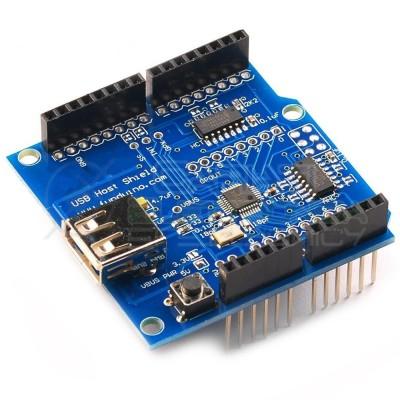 USB HOST Shield per Arduino Chiavetta USB Fotocamera