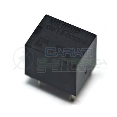 Relè Relay NBJENP CRF1-S-DC12V-C con bobina da 12Vdc 20A 16Vdc 5A 250Vac SPDT