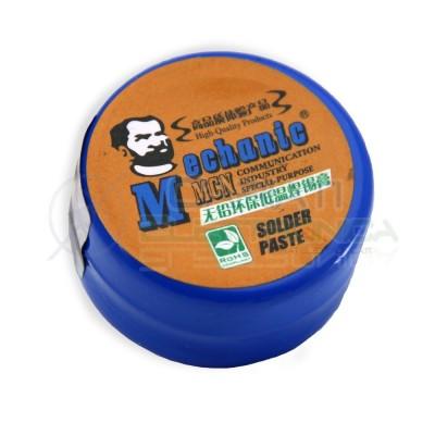 Stagno liquido Solder Paste 20gr Sn96.5 Ag3 Cu0.5 per saldatura SMD Lead Free  6,00€