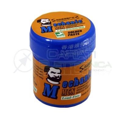 Stagno liquido Solder Paste 42gr Sn96.5 Ag3 Cu0.5 per saldatura SMD Pasta Saldante