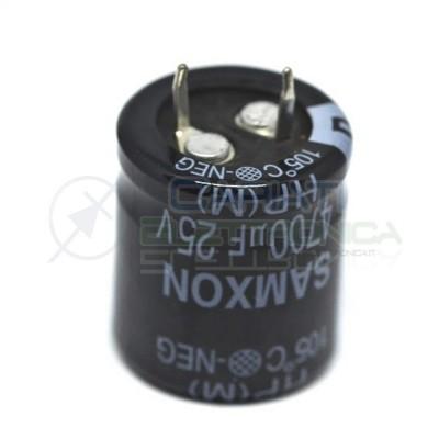 Condensatore elettrolitico SAMXON SNAP IN 4700 uF 25V 105°CSamxon