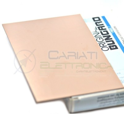10 PEZZI Basetta Scheda Ramata 210x300 Vetronite Mono Faccia Bungard elektronik 50,00 €