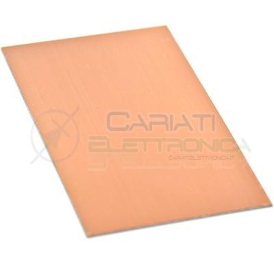 10 PEZZI Basetta Ramata in Vetronite 100 x 70 mm Mono Faccia Scheda 70x100 monofaccia  8,00€