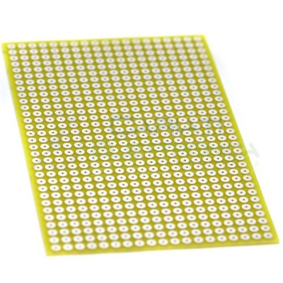 BASETTA MILLEFORI 100x160 mm Passo 5mm IN VETRONITE BREADBOARD