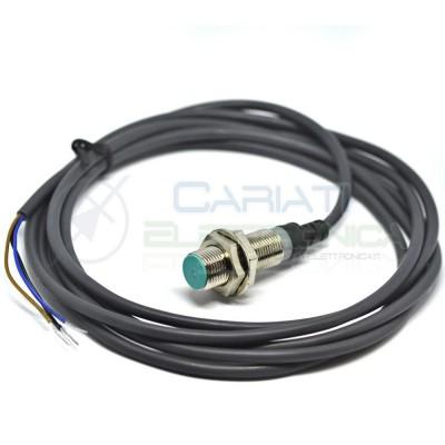 Sensore di Prossimità MAGNETICO interruttore PNP NO 3 fili 6-30Vdc cavo 2m