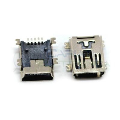2 Pezzi Connettore Porta Presa Mini USB B