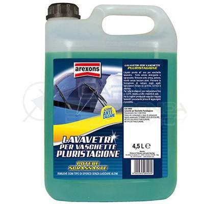 Arexons Additivo Lavavetri concentrato per Auto Azione Antigelo 4.5 litri 8458
