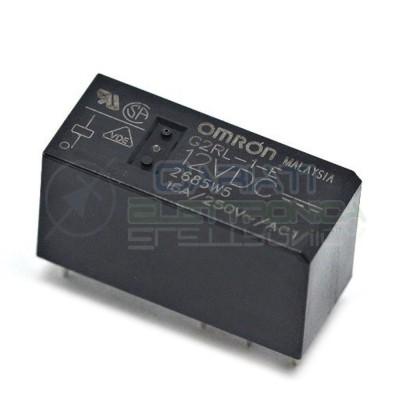Relè singolo 1 scambio Omron G2RL-1-E DC12 12V DC 16A 250V SPDT Omron 2,40€