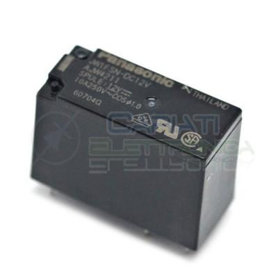 Relè singolo 1 scambio Panasonic JW1FSN-DC12 12V DC 10A 250V Panasonic 1,99€