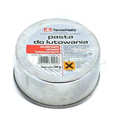 Pasta saldante salda 100g per saldatura punte saldatore stagnoAgThermopasty