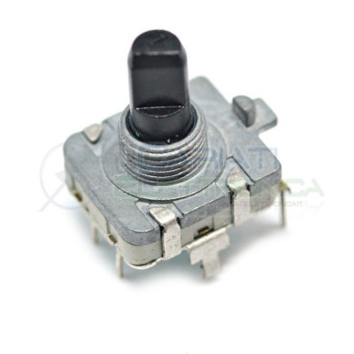 Encoder rotativo EC16 5 PIN 24 IMPULSI con albero 15mm 2,99 €