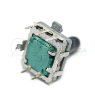 Encoder rotativo EC16 5 PIN 24 IMPULSI con albero 15mm